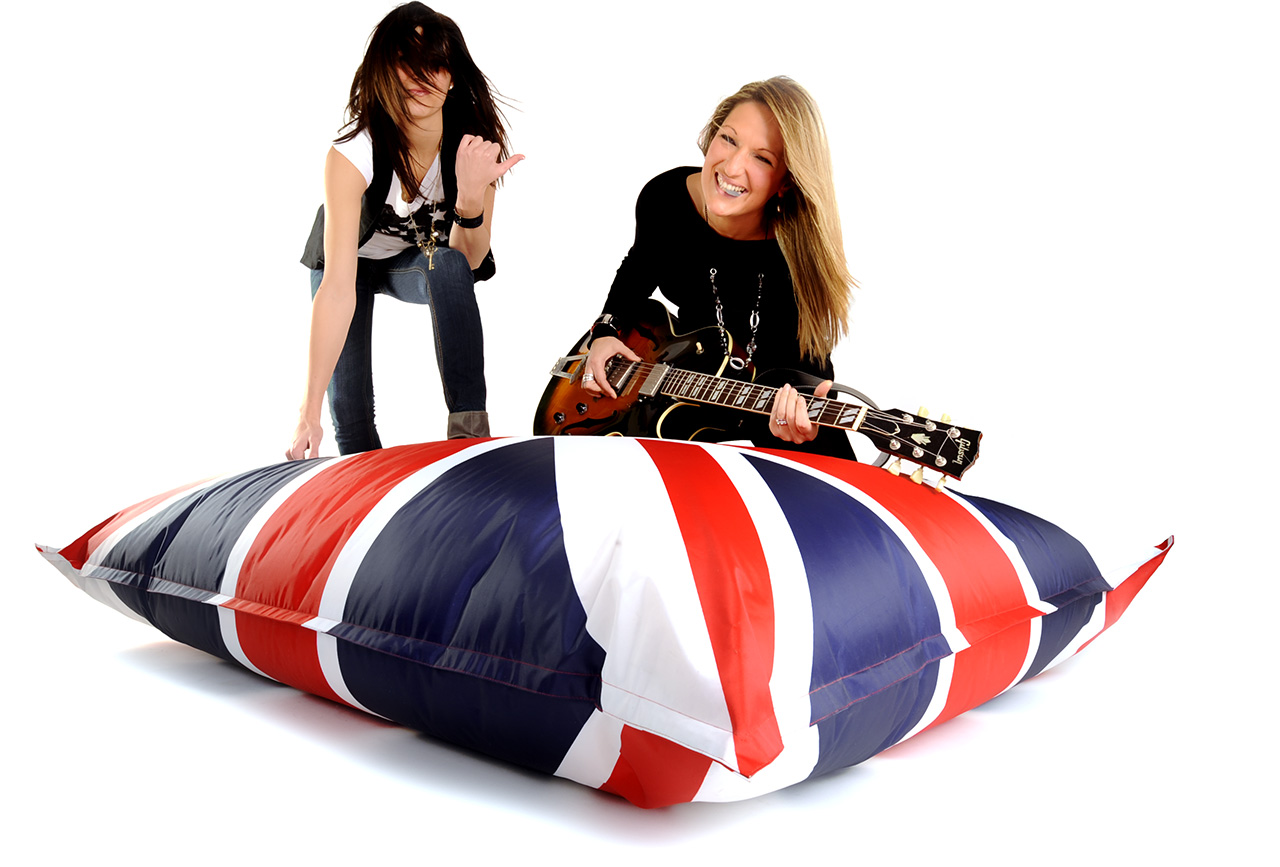 pouf g ant uk drapeau anglais 75 livraison express. Black Bedroom Furniture Sets. Home Design Ideas