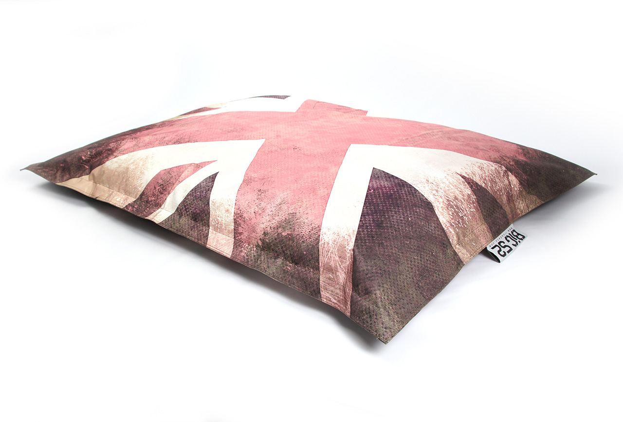 Pouf g ant big52 vintage uk drapeau anglais pouf g ant for Pouf avec drapeau anglais