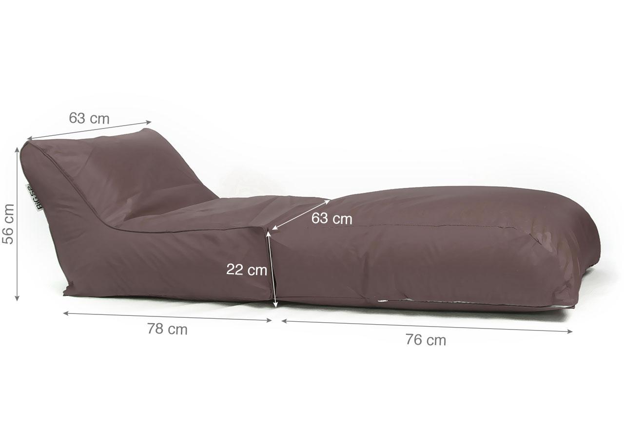 transat pouf g ant chocolat 75 livraison express. Black Bedroom Furniture Sets. Home Design Ideas