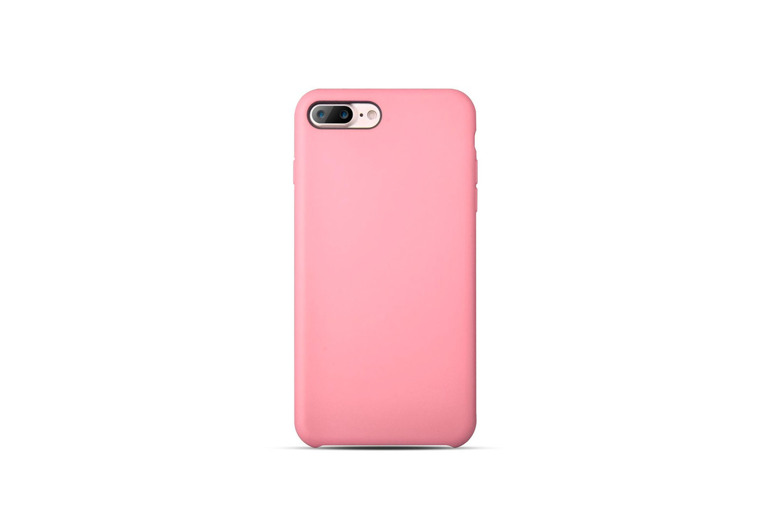 coque silicone souple rose pour iphone 7 plus. Black Bedroom Furniture Sets. Home Design Ideas