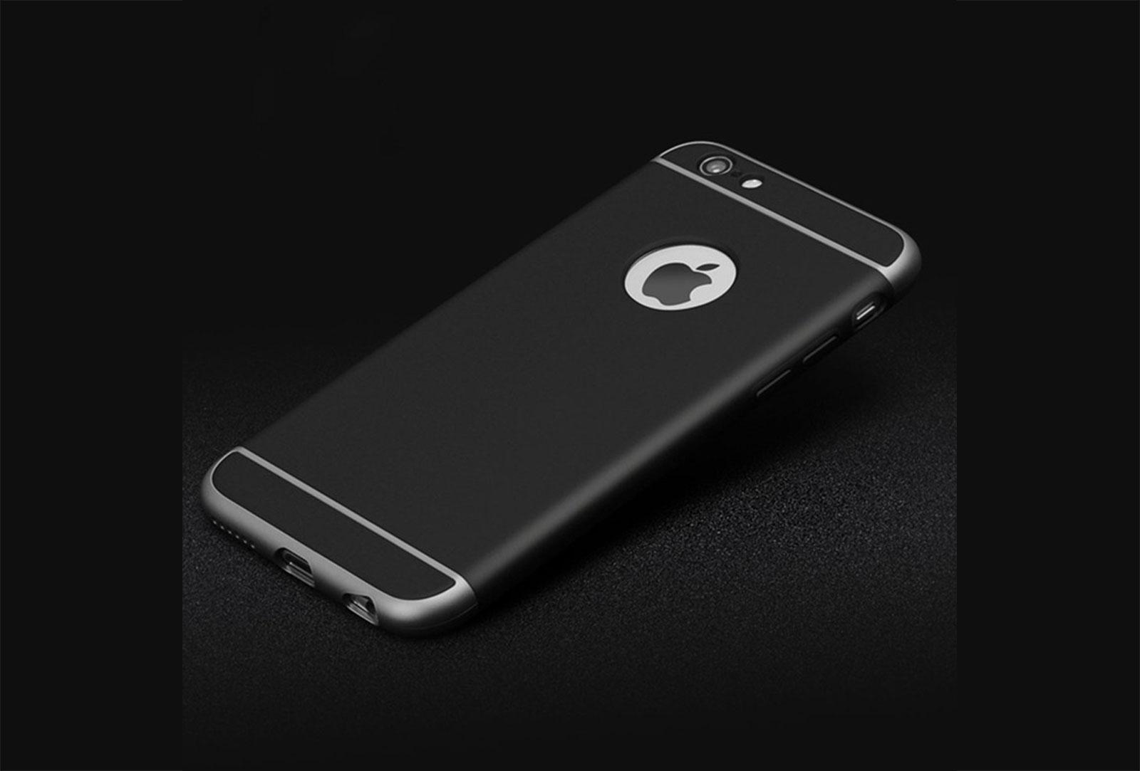 coque iphone 6 noir et gris