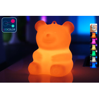 Ourson Lumineux à LED Multicolore - BÄRA