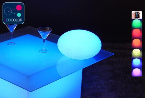 Galet Lumineux à LED Multicolore XL