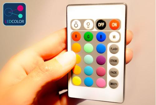 Table basse lumineuse LED Multicolore - MOON LIGHT S