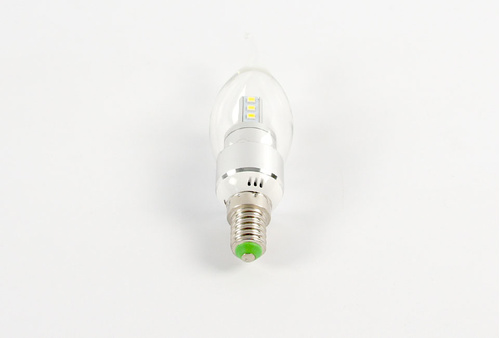 Ampoule LED E14 forme bougie 5 Watts Blanc Chaud