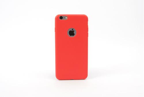 Coque silicone souple rouge pour iPhone 5, iPhone 5 S et iPhone SE