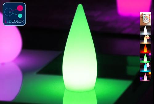 Goutte Lumineuse à LED Multicolore - SKAL - 37 cm