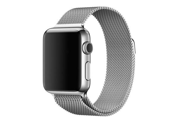 Bracelet métal magnétique gris Apple Watch 38 mm - S/M et M/L