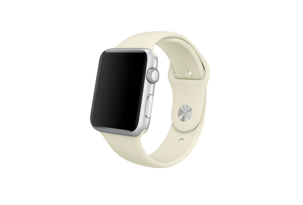 Bracelet Sport beige Apple Watch 38 mm - S/M et M/L