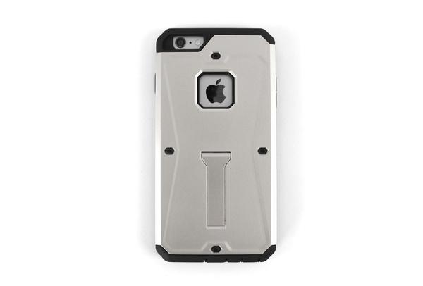 Coque grise anti-choc pour iPhone 6 S Plus et iPhone 6 Plus