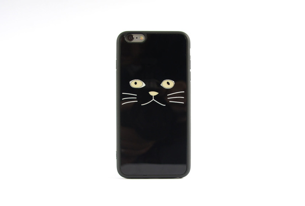 Coque Chat Noir pour iPhone 6 S et iPhone 6