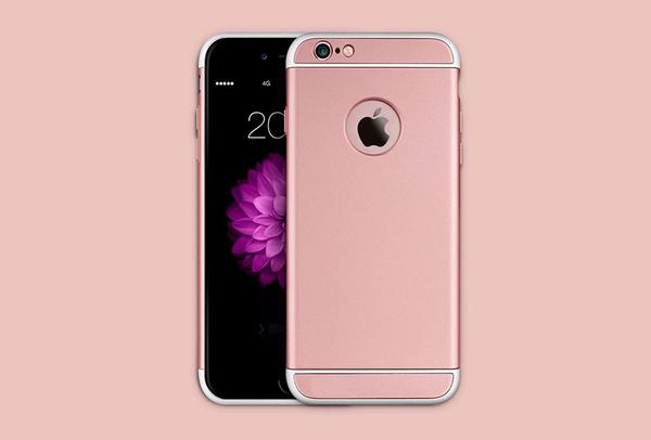 Coque Rose iPhone 6 S et iPhone 6 - SOLID
