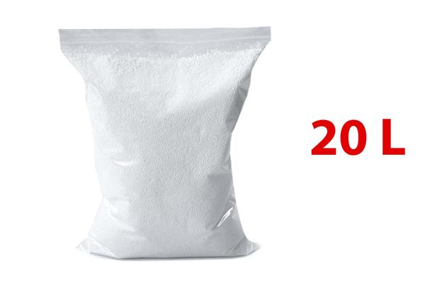 Neige artificielle en billes de polystyrène - 10 litres