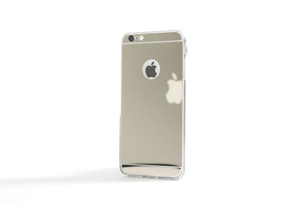 Coque Slim Miroir gris pour iPhone 5 et iPhone se