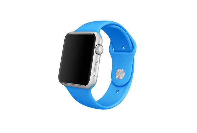 Bracelet Sport bleu Apple Watch 38 mm - S/M et M/L