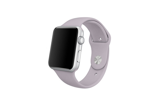 Bracelet Sport lavande Apple Watch 38 mm - S/M et M/L