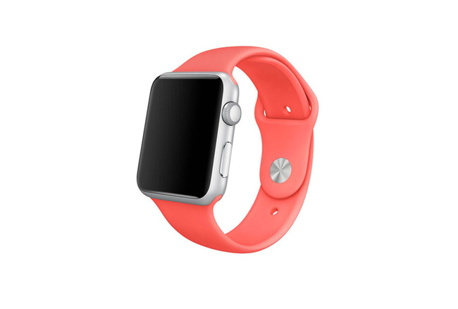 Bracelet Sport rose Apple Watch 38 mm - S/M et M/L