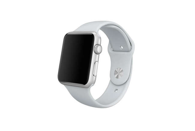 Bracelet Sport gris Apple Watch 42 mm - S/M et M/L