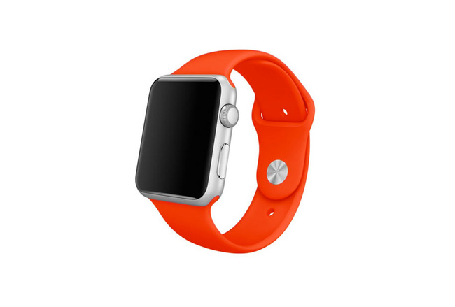 Bracelet Sport orange Apple Watch 42 mm - S/M et M/L