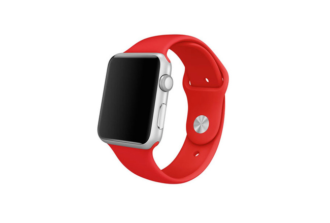 Bracelet Sport rouge Apple Watch 42 mm - S/M et M/L