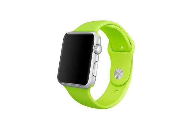 Bracelet Sport vert Apple Watch 42 mm - S/M et M/L