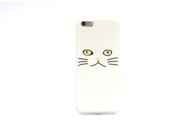 Coque Chat Blanc pour iPhone 6 S et iPhone 6