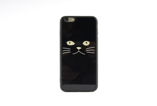 Coque Chat Noir pour iPhone 6 S et iPhone 6