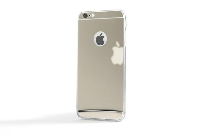 Coque Slim Miroir Gris pour iPhone 6 S Plus et iPhone 6 Plus