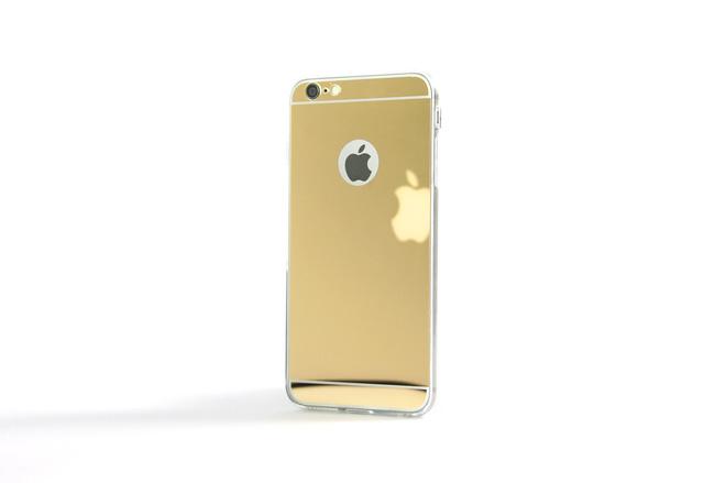 Coque Slim Miroir Or pour iPhone 6 S et iPhone 6