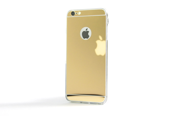 Coque Slim Miroir Or pour iPhone 6 S Plus et iPhone 6 Plus