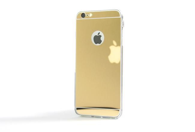 Coque Slim Miroir Or pour iPhone 6 S Plus et iPhone 6 Plus