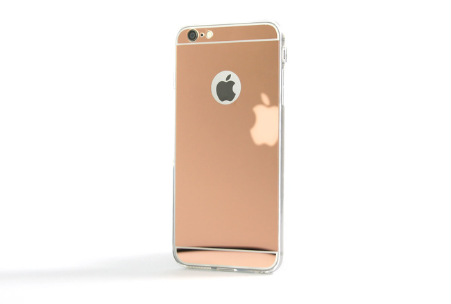 Coque Slim Miroir Rose pour iPhone 6 S Plus et iPhone 6 Plus