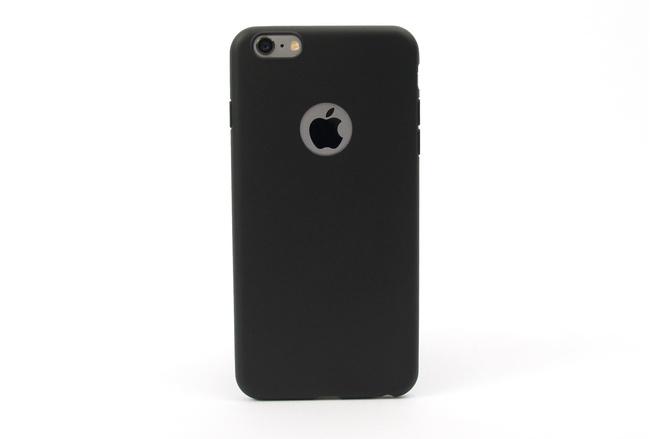 Coque silicone souple noir pour iPhone 6 S Plus et iPhone 6 Plus