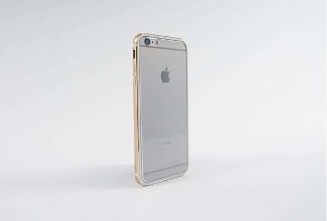 Coque Slim Métal Or pour iPhone 6 S et iPhone 6