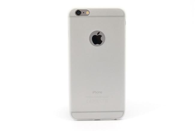 Coque silicone souple translucide pour iPhone 6 S Plus et iPhone 6 Plus