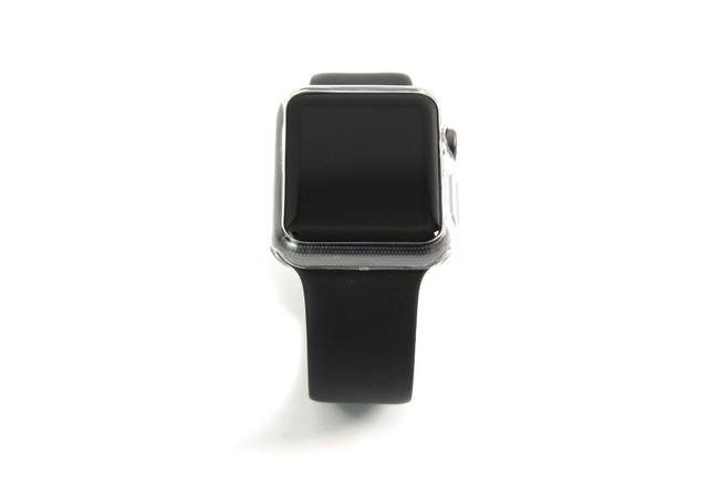 Coque transparente anti-choc souple pour Apple Watch 38 mm