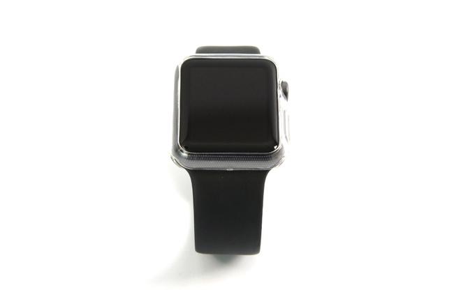 Coque transparente anti-choc souple pour Apple Watch 38 mm