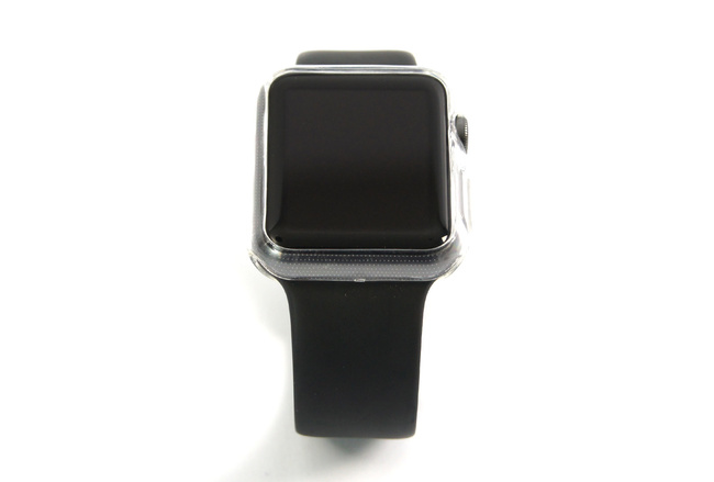Coque transparente anti-choc souple pour Apple Watch 42 mm