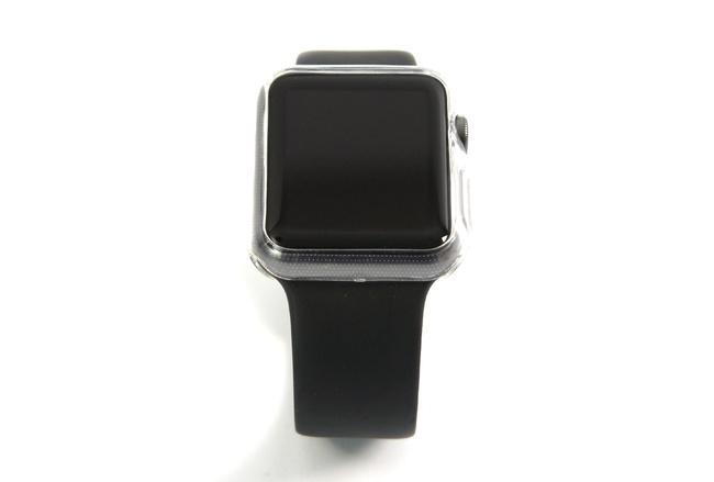 Coque transparente anti-choc souple pour Apple Watch 42 mm