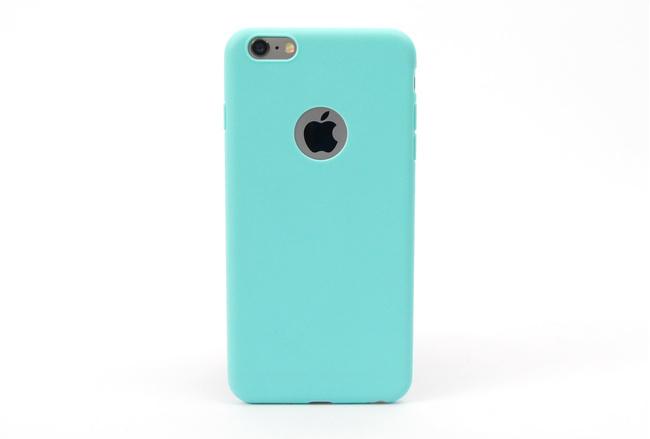 Coque silicone souple turquoise pour iPhone 6 S Plus et iPhone 6 Plus