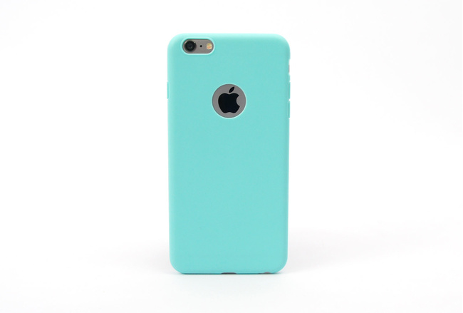 Coque silicone souple turquoise pour iPhone 5, iPhone 5 S et iPhone SE