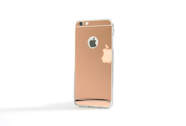 Coque Slim Miroir rose pour iPhone 5 et iPhone se