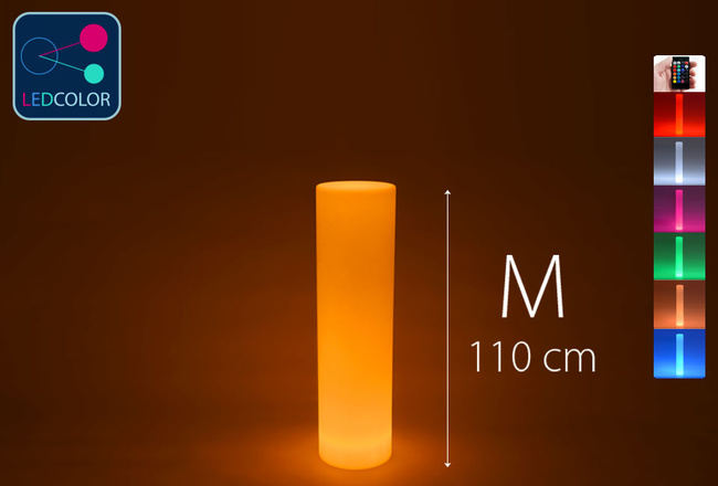 Colonne Lumineuse à LED Multicolore - ROUND M