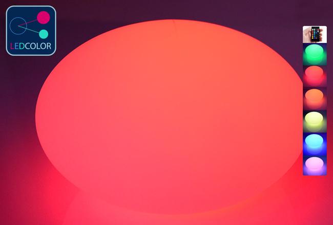 Galet Lumineux à LED Multicolore S