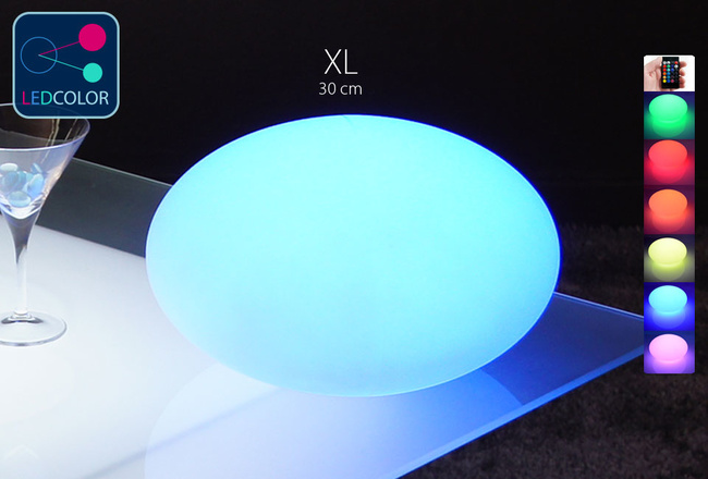 Galet Lumineux à LED Multicolore XL