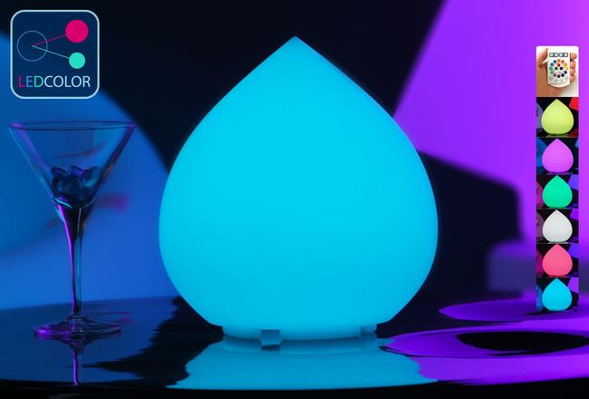 Goutte Lumineuse à LED Multicolore - SKAL - 25 cm