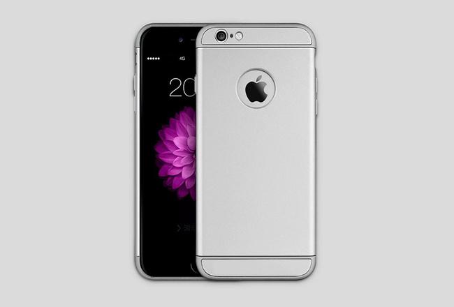 Coque Grise iPhone 6 S Plus et iPhone 6 Plus - SOLID