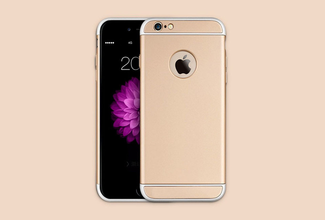 Coque Or iPhone 6 S et iPhone 6 - SOLID