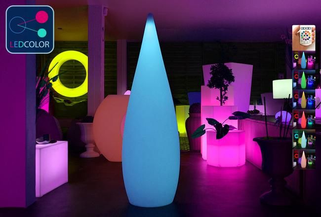 Goutte Lumineuse à LED Multicolore - SKAL - 150 cm