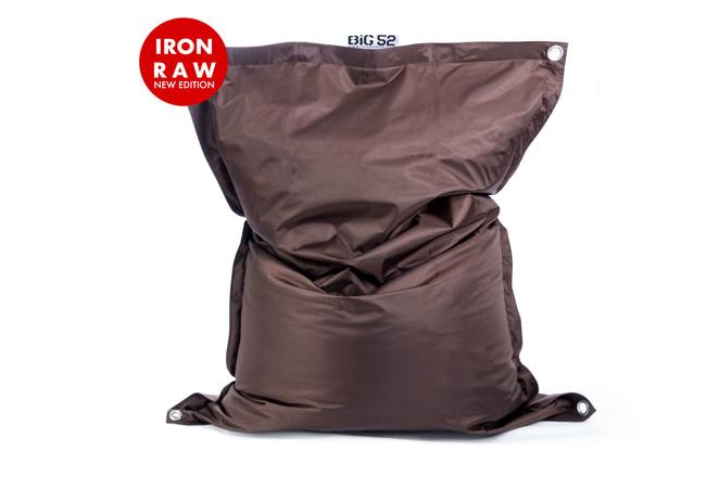 Pouf Géant Extérieur Chocolat BiG52 IRON RAW